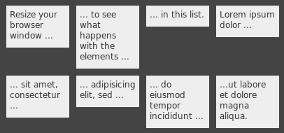 Align List Items Horizontally with CSS … – Steffen
