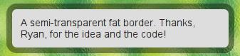 Fat Borders